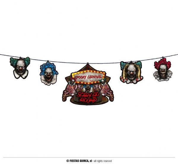 Horror Clown Garland
